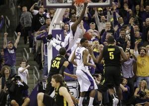 Tony Wroten dunks, crushes OU's spirit (AP Photo - Ted S. Warren)