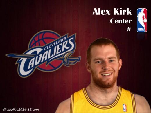 Alex-Kirk-Cleveland-Cavaliers-2014-15-Player