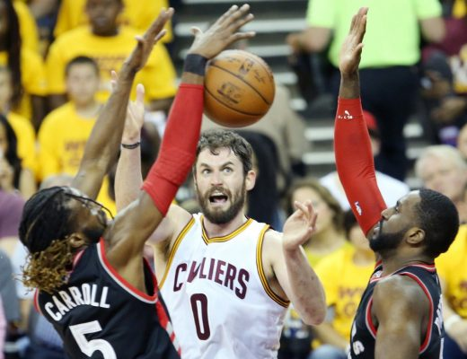 I don't know what's going on here, but #0 sure looks tough! (via cleveland.com)